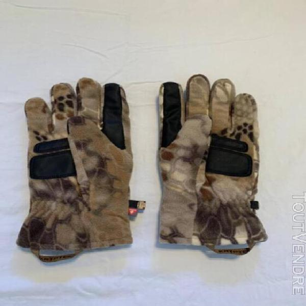 Kryptek vellus glove – like new, unused, size large