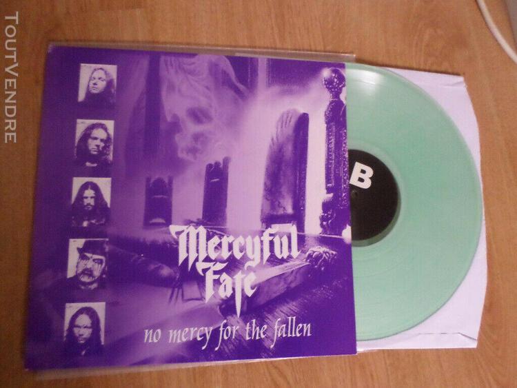 Mercyful fate king diamond - no mercy for the fallen lp ice