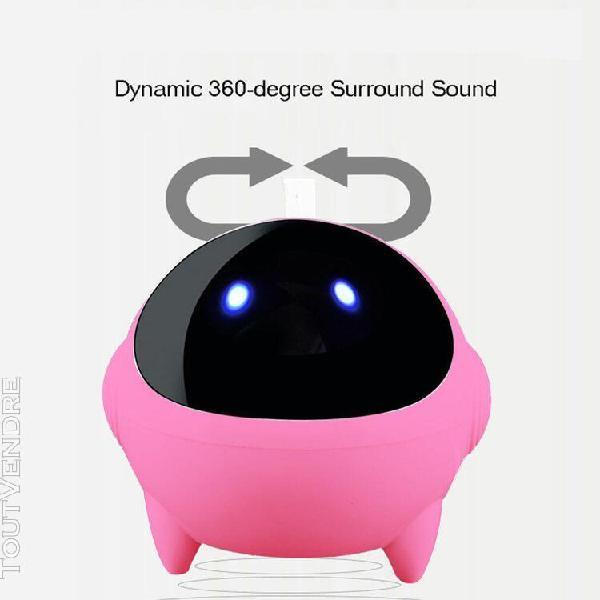 Mini portable usb enceintes petit son portable astronaute so