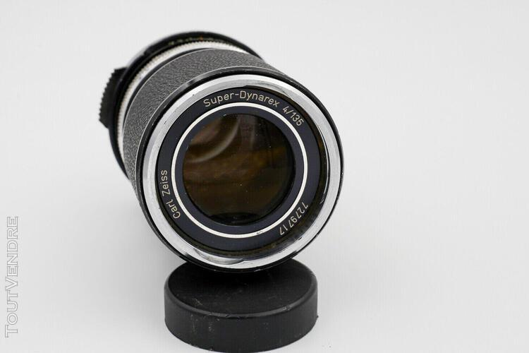 Objectif carl zeiss super dynarex 135mm f/4 - monture m42
