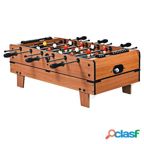 Costway table de jeux multifonction 4 en 1 baby-foot air hockey billard tennis de table 81 x 43 x 30 5 cm