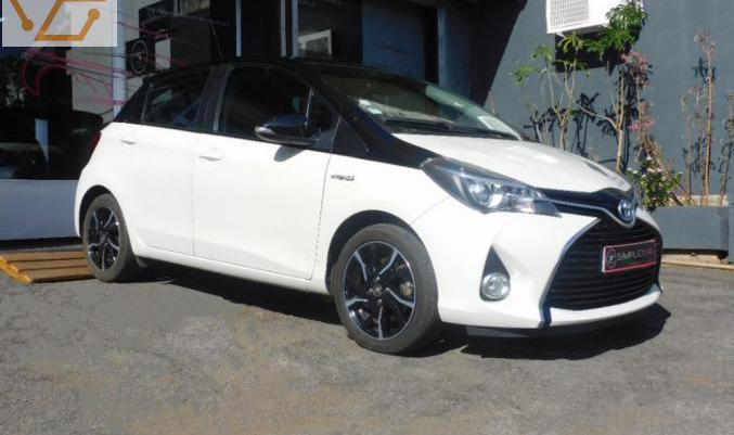 Toyota yaris hybride lca 2016 100h collection