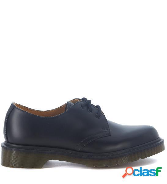 Chaussures à lacets dr. martens 3 œillets en cuir