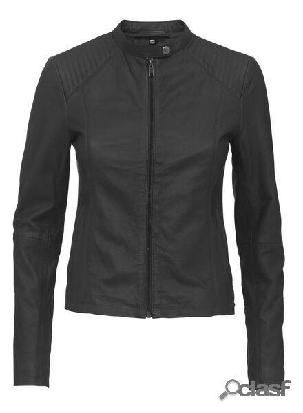 Hema veste cuir femme noir (noir)