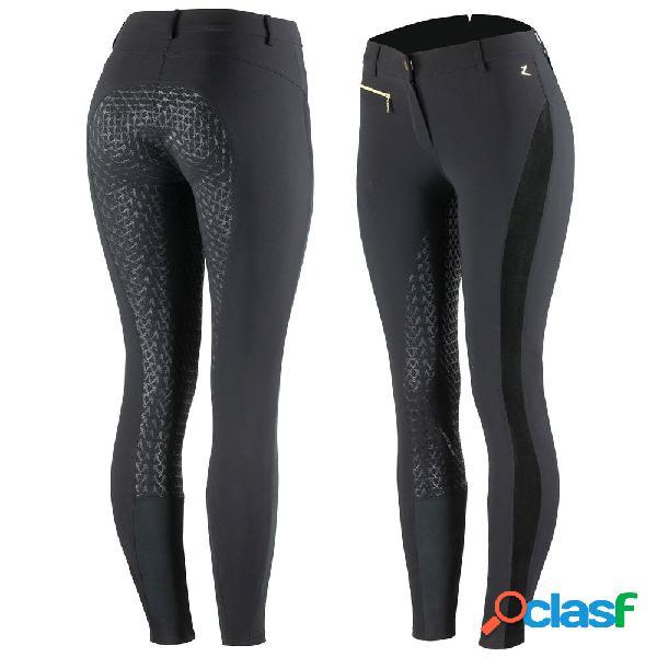 Pantalon d'équitation fond intégral silicone édition limitée horze camille, femme