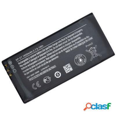 Batterie originale bp5t pour nokia lumia 820