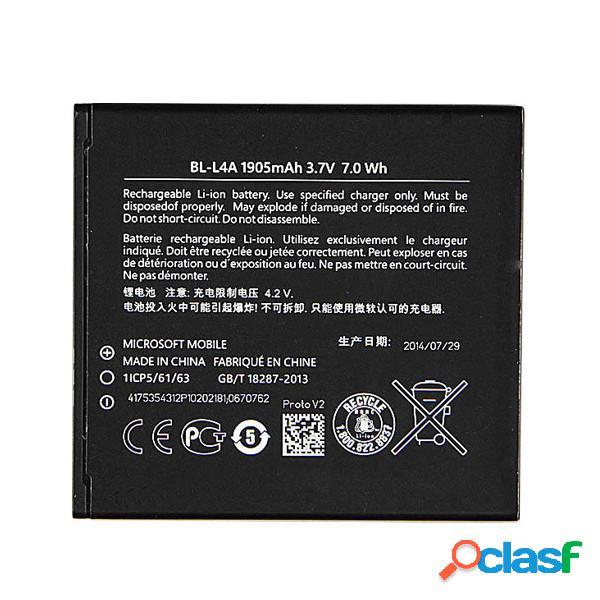 Batterie bl-l4a pour microsoft lumia 535