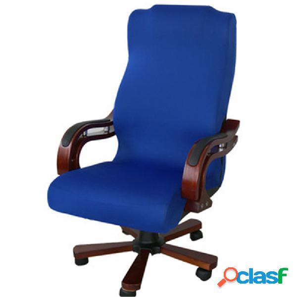 Housse de chaise d'ordinateur de bureau s / m / l housse de chaise de bras de conception à glissière latérale housse de chaise extensible