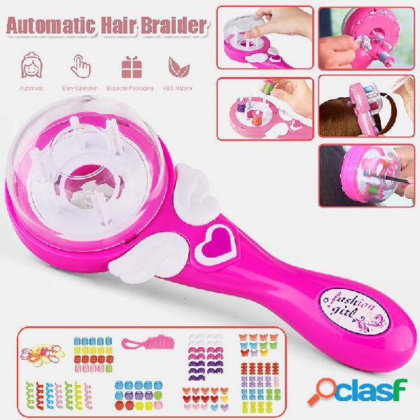 Rouleaux électriques tresseur de cheveux outil de tressage de cheveux électronique automatique intelligent bricolage outils de coiffure magiques machine de tressage de cheveux