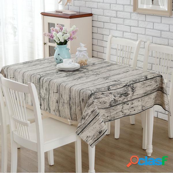 """Vintage bois écorce coton lin tissu nappe à la main tissu bricolage matériel à coudre 55 x 71 """""""