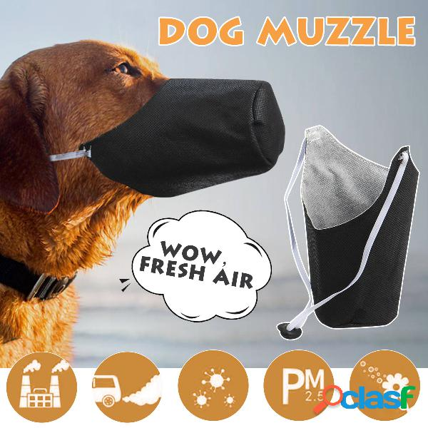 Masques anti-brume pour animaux de compagnie pour chiens avec pm2.5 protège-dents