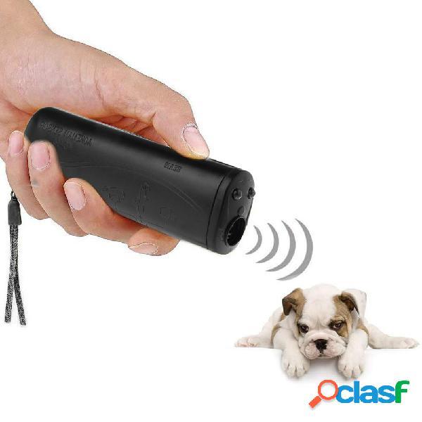 Entraîneur d'animal familier de dispositif de formation de repeller de dispositif de formation de repeller de chien anti-aboiement d'aboiement anti-aboiement avec led