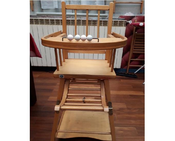 Chaise haute bebe combelle