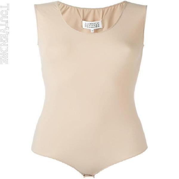 Maison margiela femme s51na0039s20518121 beige polyester bod