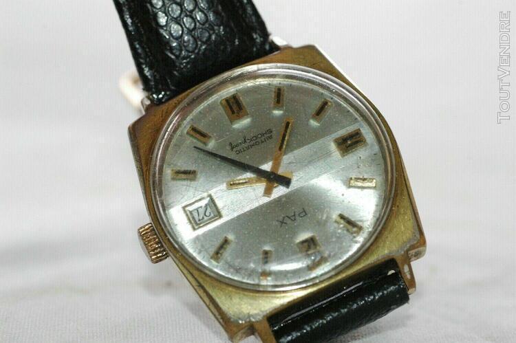 Montre marque pax automatic vintage années 50/60