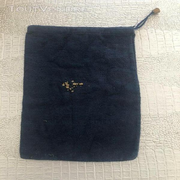 Sac en tissu bleu marine