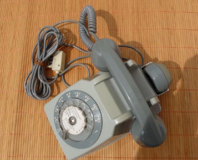 Téléphone socotel s63 gris de 1975