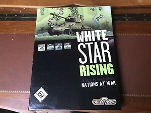 White star rising (nations at war) wargame en vf 1ere