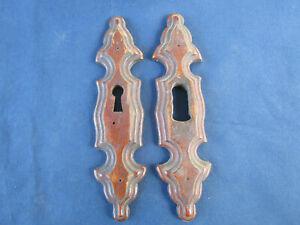 2 entrées de serrure bois louis porte meuble louis philippe