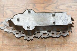 Ancienne serrure fer forgé, alsacienne ou allemande,