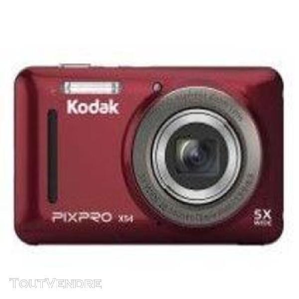 Appareil photo compact kodak pixpro x54 rouge compact - 16.1