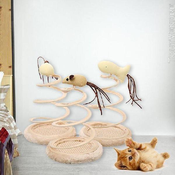 Chat pour animaux de compagnie plateau tournant jouet simula