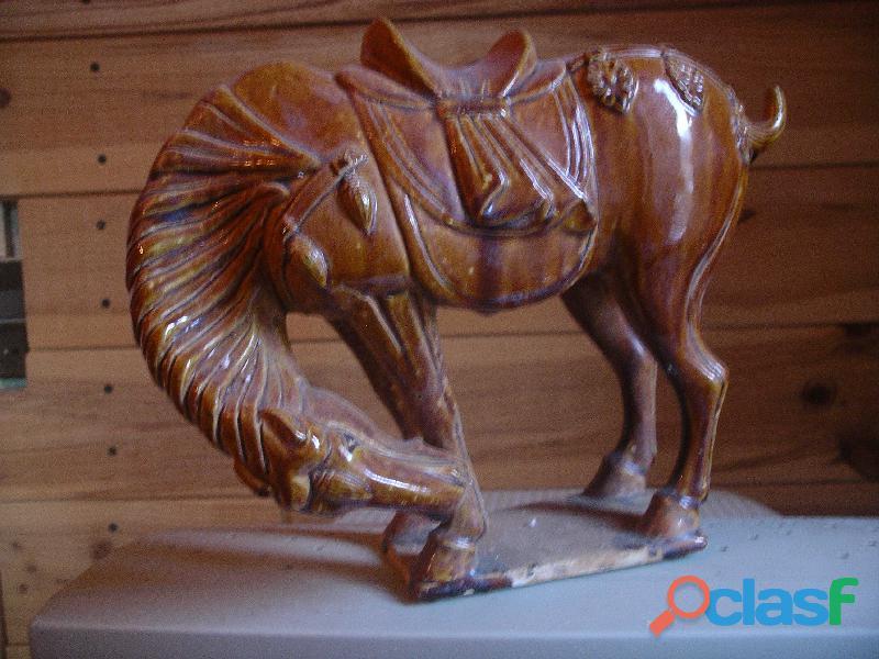 cheval tang ancien   céramique