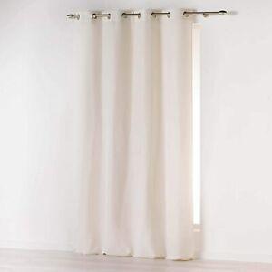 Douceur d'intérieur rideau a oeillets 140x260 cm 140 x