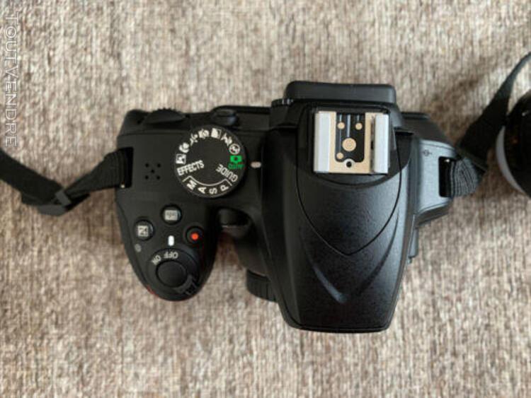 Nikon d3400 appareil photo numerique + nikon dx 18-55mm 1:3.