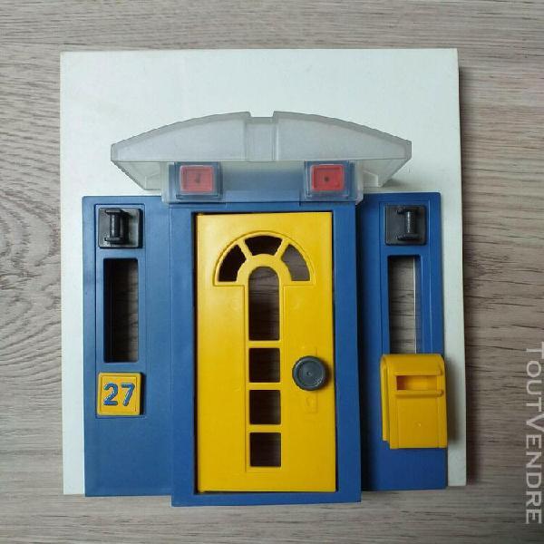 Playmobil: rare: ensemble formant la porte d'entree de la