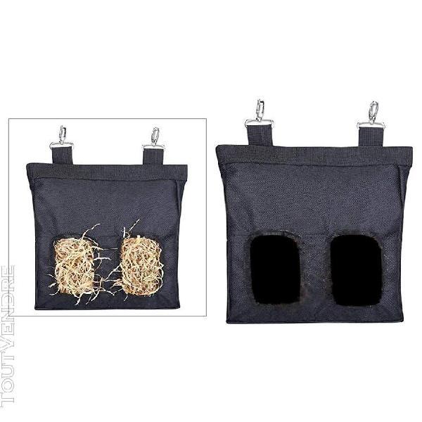 Sacs de foin suspendus rack d'alimentation herbivore sacs de