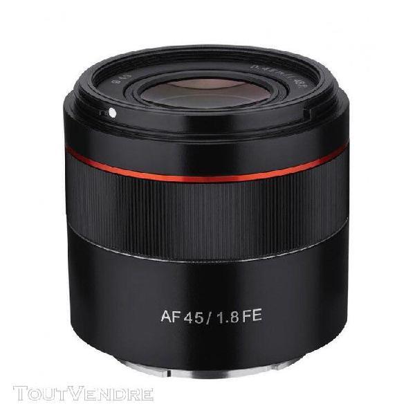 Samyang objectif af 45mm f1.8 sony fe garanti 2 ans