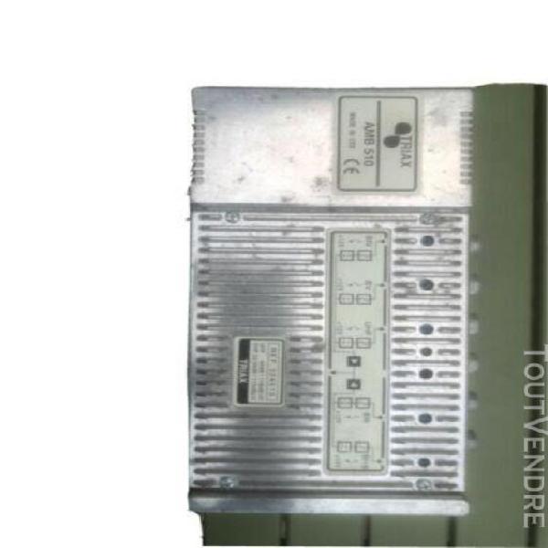 amplificateur d'antenne tv tnt hd triax amb 510