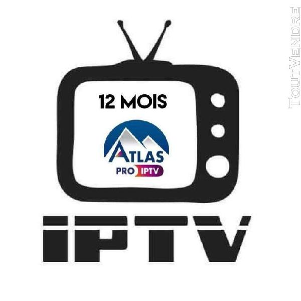 Atlas pro – code 12mois
