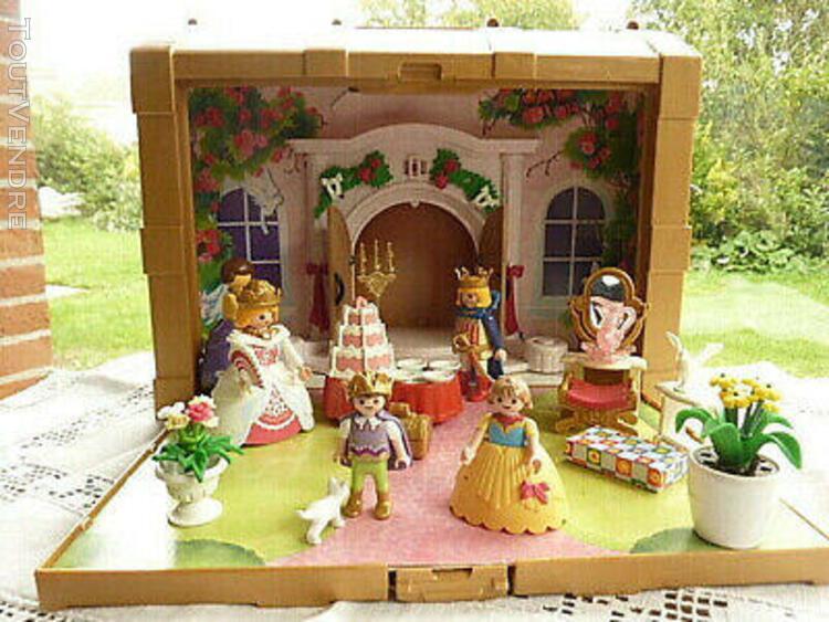Playmobil coffret de princesse transportable avec accessoire
