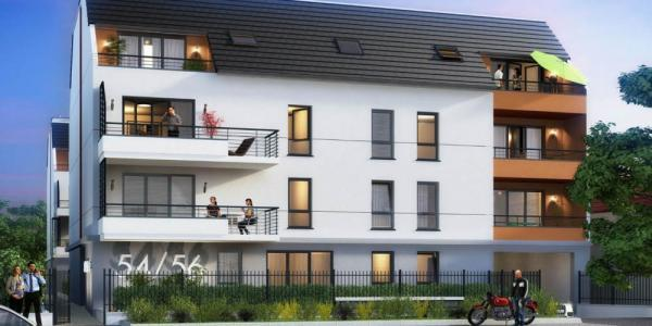 Programme immobilier neuf melun 63 m2 seine et marne