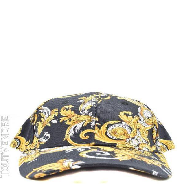 Versace jeans homme e8gzak1285073899 noir coton chapeau