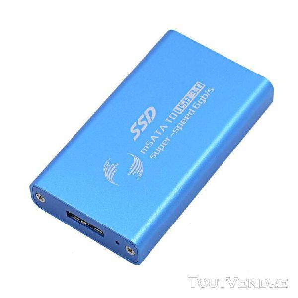 Cnyo® classique bleu haute vitesse 6gb / s optibay msata
