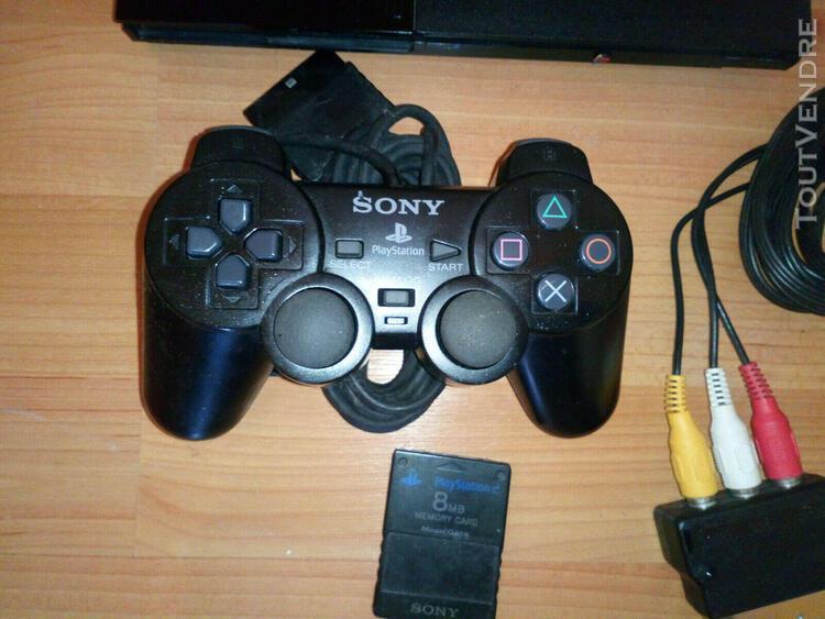 Console ps2 et jeux