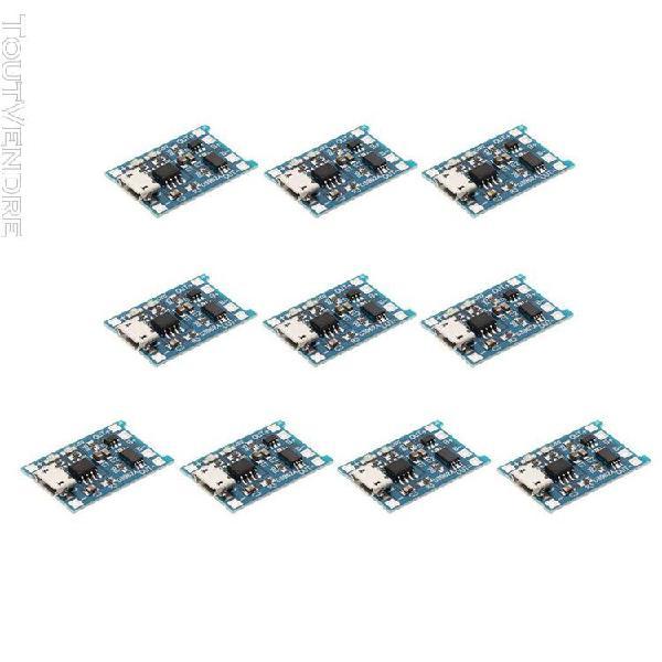 10pcs modules de charge usb panneau module chargeur pcb boar