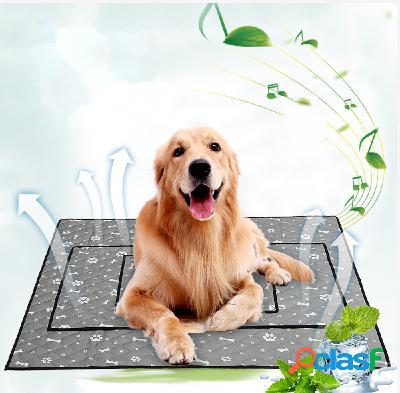 Tapis de refroidissement d'été pour animaux de compagnie tapis antidérapant pour chiens tapis de chat pour animaux de compagnie