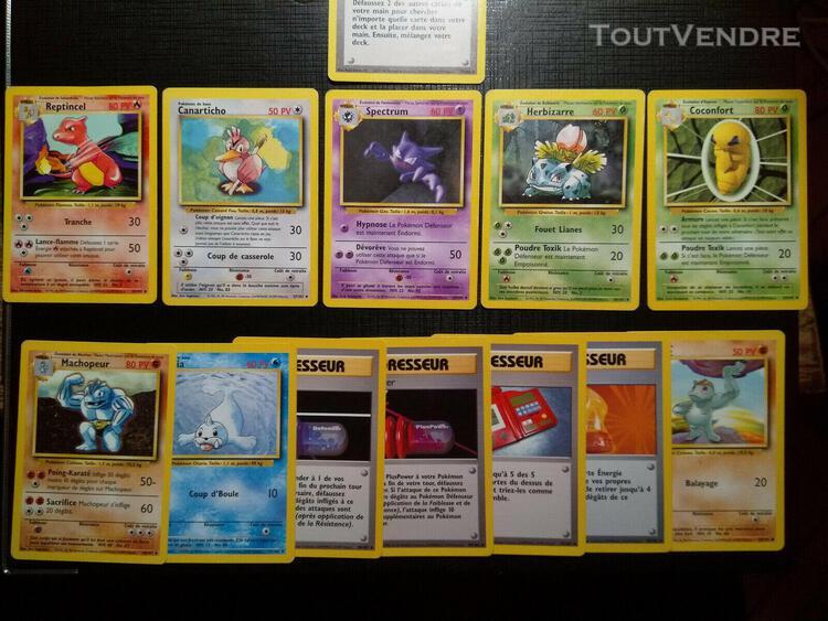 lot 50 cartes wizards wotc fr base jungle neo aquapolis cart