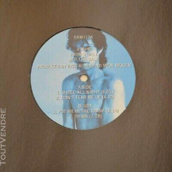 "Mick jagger - wandering spirit sampler - 1993 uk 12"" ep prom"
