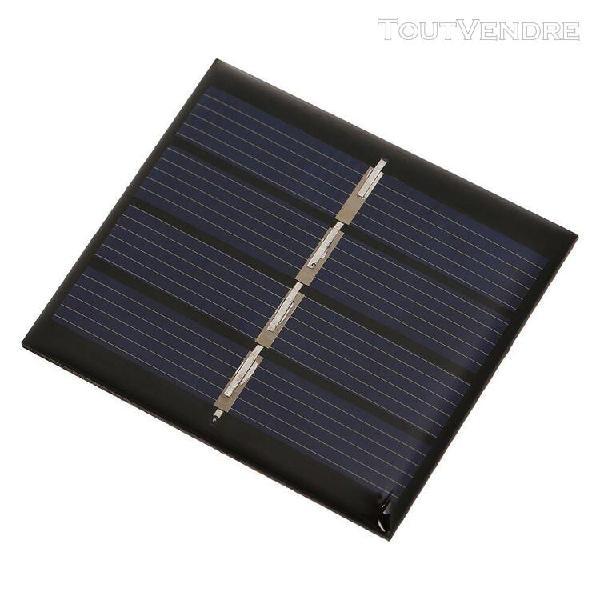 Module de panneau solaire de 0.36w / 2v diy diy avec le sili