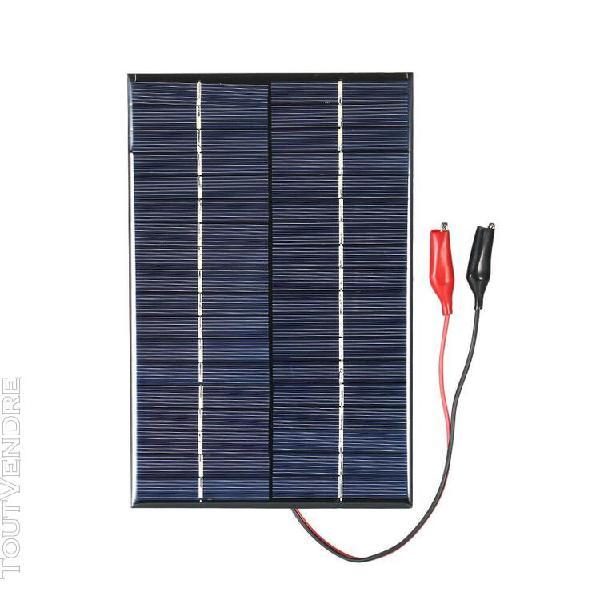 Panneau solaire en silicium polycristallin de 18,2w 18v avec