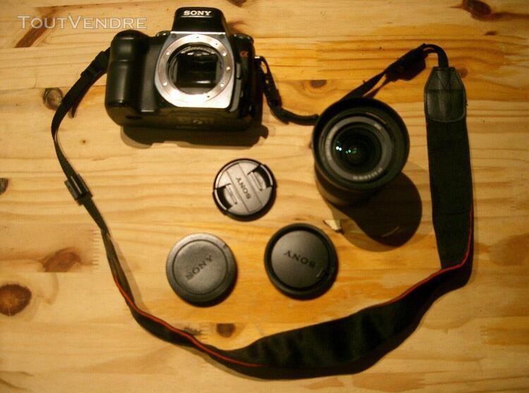Appareil photo numérique reflex sony dslr alpha 100 +