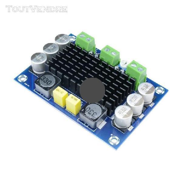 Carte amplificateur mono, 100w dc 12v-26v audio haute pui