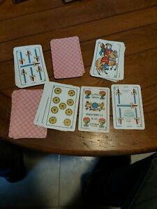 Jeux de cartes espagnol fournier n°35
