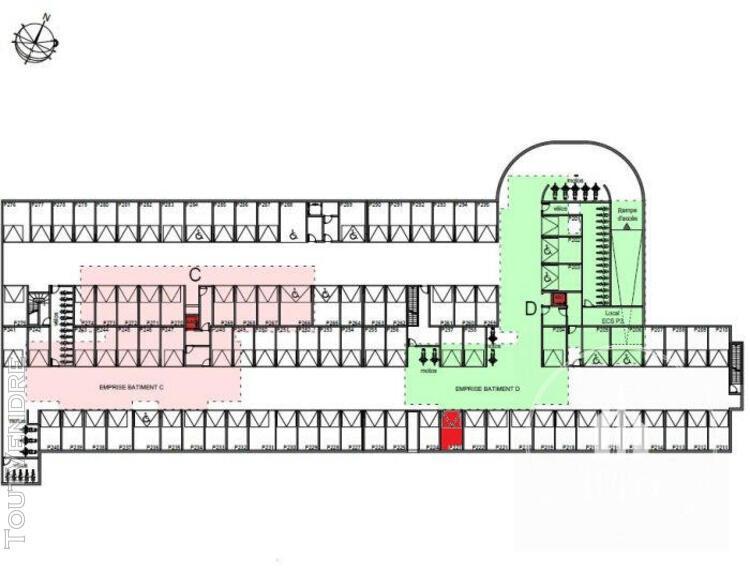 Marseille vente t3 de 69.64 m2 + 22.94 m2 de terrasse