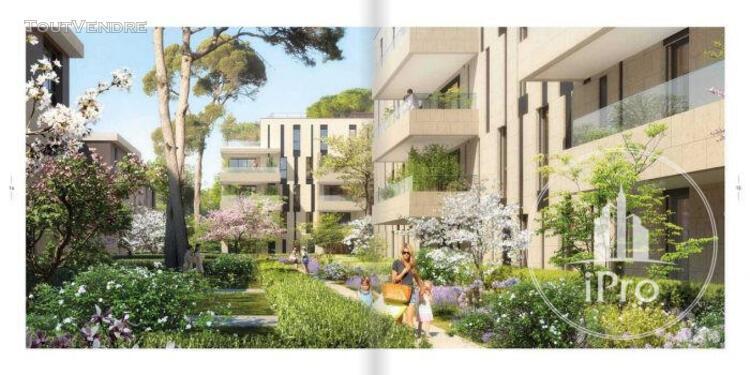 Marseille vente t3 de 72.00 m2 + 91.83 m2 de jardin